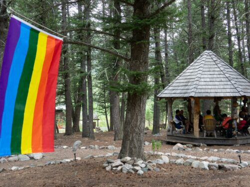 In the Middle at Camp Pride 2014